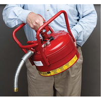 D.O.T. AccuFlow™ Safety Cans SED118 | NIS Northern Industrial Sales