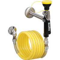 12' Wall Mounted Drench Hose SEE320 | NIS Northern Industrial Sales