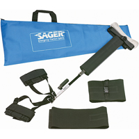 Sager Form III Bilateral Traction Splints SEE496 | NIS Northern Industrial Sales
