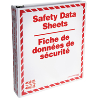 MSDS/SDS Binders | NIS Northern Industrial Sales