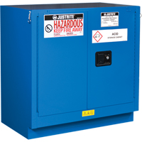 Chem-Cor® Lined Hazardous Material Undercounter Safety Cabinets SEL045 | NIS Northern Industrial Sales
