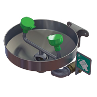 Wall Mount Eye/Face Wash w/Stainless Bowl SFV154 | NIS Northern Industrial Sales