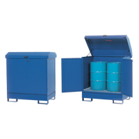 Non-Combustible, HazMat Storage Station SFW357 | NIS Northern Industrial Sales