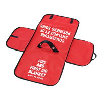 Pouch for Fire Blanket SGB067 | NIS Northern Industrial Sales