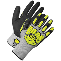 Coated Synthetic Knit Gloves SGE917 | NIS Northern Industrial Sales