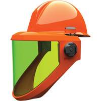 Weight-Balancing Faceshield with PrismShield™ & North Zone Hard Hat SGK245 | NIS Northern Industrial Sales