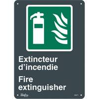 """Extincteur D'Incendie/Fire Extinguisher"" Pictogram Sign SGM771 