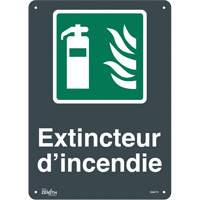 """Extincteur D'Incendie"" Pictogram Sign SGM773 