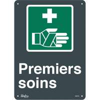 """Premier Soins"" Pictogram Sign SGM782 