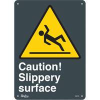 """Slippery Surface"" Pictogram Sign SGM786 