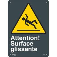 """Surface Glissante"" Pictogram Sign SGM788 