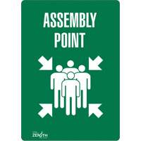 """Assembly Point"" Pictogram Sign SGP174 