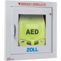Fully Recessed AED Plus<sup>®</sup> Wall Cabinet with Alarm SGT121 | NIS Northern Industrial Sales