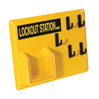 Mini Lockout Stations - Station Only SI957 | NIS Northern Industrial Sales