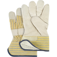 Grain Cowhide Fitters Cotton Fleece Lined Gloves SM610 | NIS Northern Industrial Sales