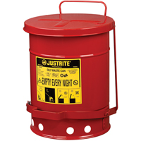 Oily Waste Cans SR357 | NIS Northern Industrial Sales
