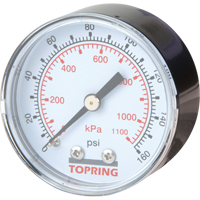 Mini Regulators - Replacement Gauge TA796 | NIS Northern Industrial Sales