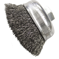 "3-1/2"" Crimped Wire Wheel Cup Brushes TT308 