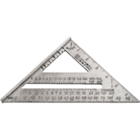 Aluminum Rafter Angle Square TDP719 | NIS Northern Industrial Sales