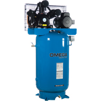 Industrial Series Air Compressors - 5 HP Horizontal Compressor - Two Stages TFA045 | NIS Northern Industrial Sales