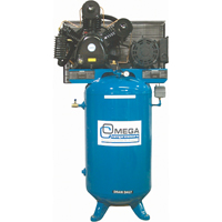 Industrial Series Air Compressors - 7.5 HP Vertical Compressors - Two Stage TFA051 | NIS Northern Industrial Sales