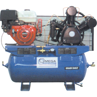 Industrial Series Air Compressors - 11 HP Gas Engine Compressors TFA106 | NIS Northern Industrial Sales