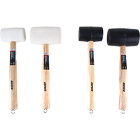 4-Piece Rubber Mallet Set TLV115 | NIS Northern Industrial Sales