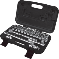 "29-Piece 1/2"" Drive S.A.E./Metric Socket Set TLV359 