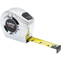 "Tape Measure Chrome 1""X33' TLV618 