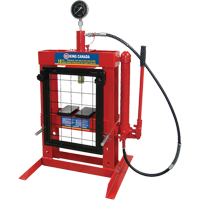 Hydraulic Shop Press with Grid Guard TMA103 | NIS Northern Industrial Sales