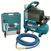 2 HP Air Compressor and Brad Nailer Kit TNB259 | NIS Northern Industrial Sales