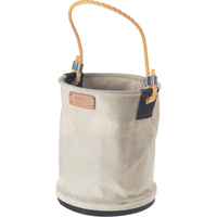 Heavy-Duty Canvas Buckets - Plastic Bottom TP204 | NIS Northern Industrial Sales