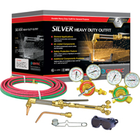 Silver Heavy-Duty Welding & Cutting Outfi ts TTV022 | NIS Northern Industrial Sales