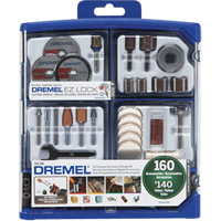 Dremel®160 Piece Accessory Set TYK594 | NIS Northern Industrial Sales