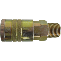 "Quick Couplers - 1/2"" Industrial, One Way Shut-Off - Manual Couplers TZ179 