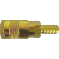 "Quick Couplers - 1/2"" Industrial, One Way Shut-Off - Manual Couplers TZ182 