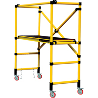 Mobile Work Scaffolding - Speedy Mobile Fibreglass Scaffolding VC197 | NIS Northern Industrial Sales
