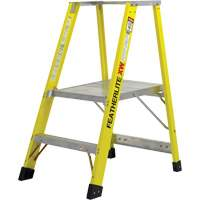 Extra Wide Heavy-Duty Industrial fibreglass Platform Stepladders (6500-XW Series) VC719 | NIS Northern Industrial Sales