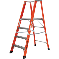 Extra Wide Extra Heavy-Duty Industrial Fibreglass Platform Stepladders (7500-XW Series) VC723 | NIS Northern Industrial Sales