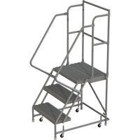 Deep Top Step Rolling Ladder VC763 | TENAQUIP