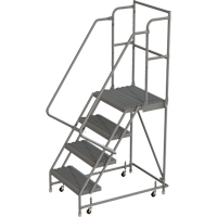 Deep Top Step Rolling Ladder VC765 | TENAQUIP