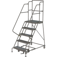Deep Top Step Rolling Ladder VC767 | TENAQUIP