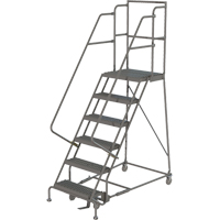 Deep Top Step Rolling Ladder VC768 | TENAQUIP