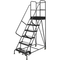 Deep Top Step Rolling Ladder VC769 | TENAQUIP
