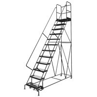 Deep Top Step Rolling Ladder VC780 | TENAQUIP