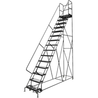 Deep Top Step Rolling Ladder VC779 | TENAQUIP