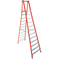 Industrial Heavy-Duty Fibreglass Pro Platform Stepladders (FXP1700 Series) VD412 | NIS Northern Industrial Sales