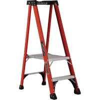 Industrial Extra Heavy-Duty Fibreglass Pro Platform Stepladders (FXP1800 Series) VD413 | NIS Northern Industrial Sales