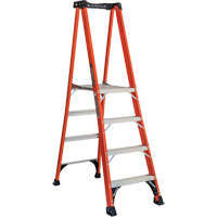 Industrial Extra Heavy-Duty Fibreglass Pro Platform Stepladders (FXP1800 Series) VD415 | NIS Northern Industrial Sales