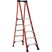 Industrial Extra Heavy-Duty Fibreglass Pro Platform Stepladders (FXP1800 Series) VD416 | NIS Northern Industrial Sales